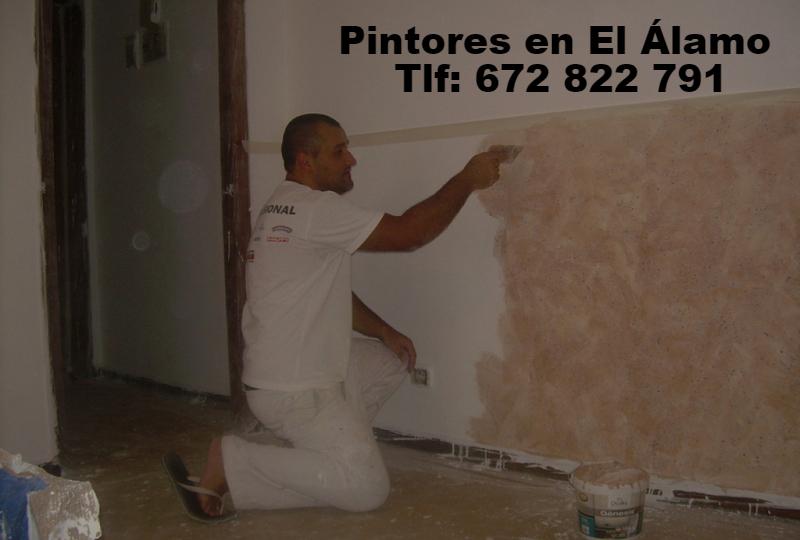 Pintores econ.omicos en El Álamo